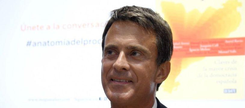 Manuel Valls, le 6 septembre 2018 à Barcelone.