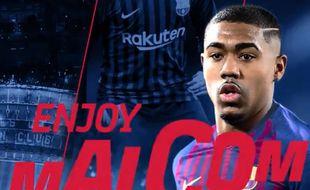 Malcom a signé au Barça