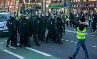 Le 5 janvier, pour l'acte 8, 2.000 personnes ont manifesté à Toulouse selon la préfecture et 22 ont été interpellées.