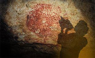 Les Magdaléniens, qui occupaient la grotte de Marsoulas (Haute-Garonne) il y a 18.000 ans ont laissé un coquillage qui permet d'émettre des sons.