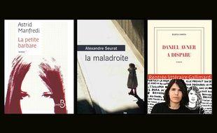 Trois premiers romans de la rentrée littéraire 2015.