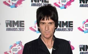 L'artiste Johnny Marr aux NME Awards 2017