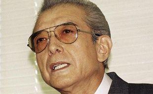 Hiroshi Yamauchi,  ici en 1992, président de Nintendo de de 1949 à 2002.