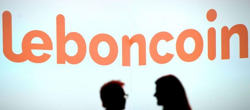Logo de l'entreprise et site de petites annonces entre particuliers LeBonCoin (illustration).