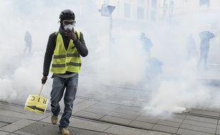 Acte 11 des gilets jaunes à Nantes, le 26 janvier 2019