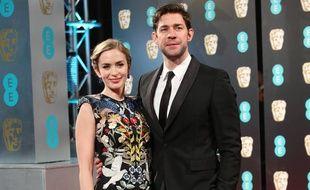 Le couple d'acteurs Emily Blunt et John Krasinski