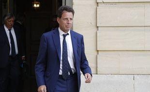 Geoffroy Roux de Bézieux, le président du Medef, le 5 septembre 2019 à Matignon.