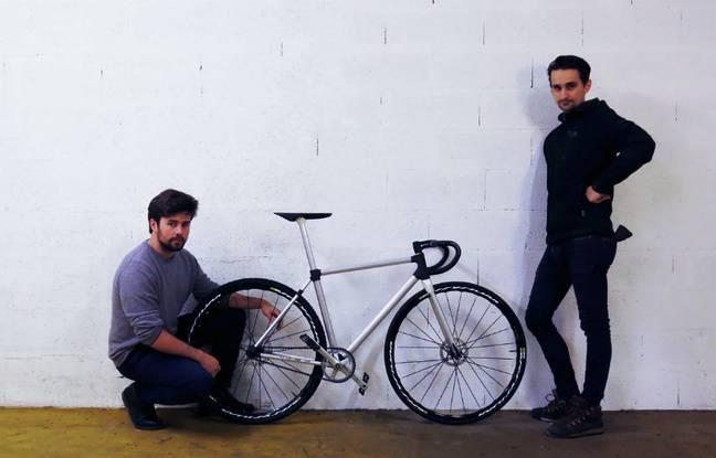 Le premier vélo métallique et fonctionnel imprimé en 3D par Sculpteo.