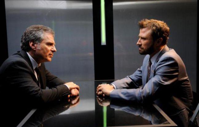 Alexandre Brasseur et Laurent Olmedo dans «R.I.S Police scientifique»