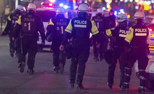 Illustration police Canada