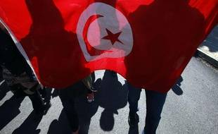 Illustration du drapeau tunisien.