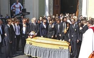 La plupart du paddock était présent à l'enterrement de Jules Bianchi mardi.