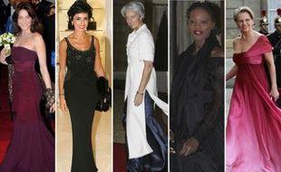 Carla Bruni-Sarkozy à Londres, Rachida Dati à l'inauguration de la nouvelle boutique Dior, Christine Lagarde, Rama Yade et Michèle Alliot-Marie à l'Elysée.