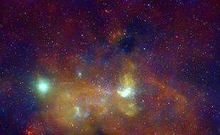 Images de la Nasa de la Voie lactée.
