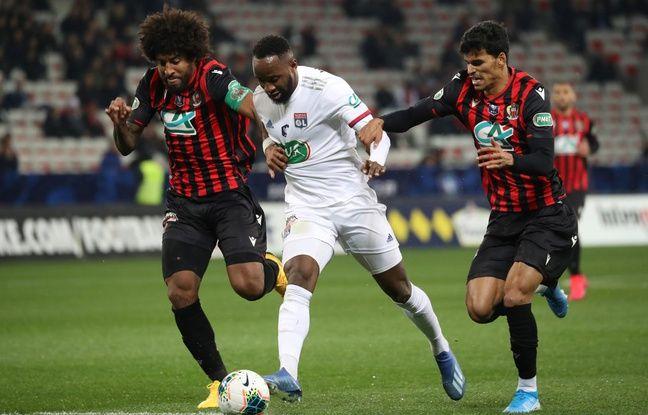 Coupe de France : les Lyonnais font tomber l'OGC Nice à la dernière minute et retrouvent l'OM en quart de finale