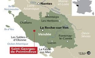 Selon l'autopsie, le décès de la fillette a eu lieu dimanche. Son corps a été retrouvé au domicile familial lundi à Saint-Georges de Pointindoux.