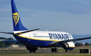 Image d'illustration d'un avion Ryanair.