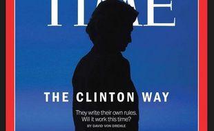 Hillary Clinton en couverture du Time.