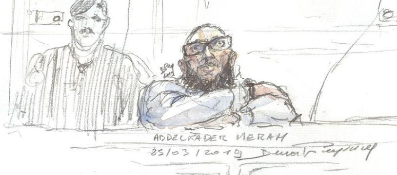 """Abdelkader Merah, le frère de Mohamed Merah, est jugé en appel pour """"complicité d'assassinats"""" et """"association de malfaiteurs terroriste""""."""