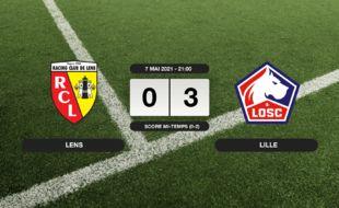 RC Lens - LOSC: 0-3 pour le LOSC contre le RC Lens au stade Bollaert-Delelis