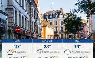 Météo Mulhouse: Prévisions du samedi 15 juin 2019