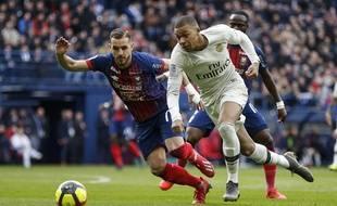 Contre Caen, samedi, Mbappé a inscrit un doublé.