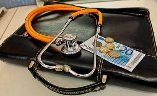 Une consultation chez le médecin. (illustration)