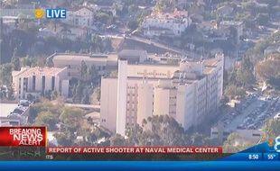 L'hôpital militaire de la Navy se trouve dans le centre-ville de San Diego