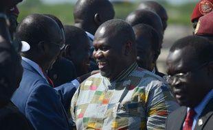 Le vice-président Riek Machar à Juba, le 26 avril 2016