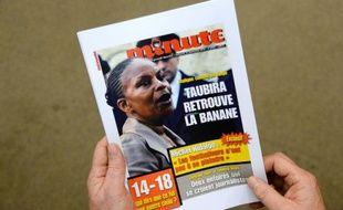 La Une de l'hebdomadaire Minute, le 12 novembre 2013