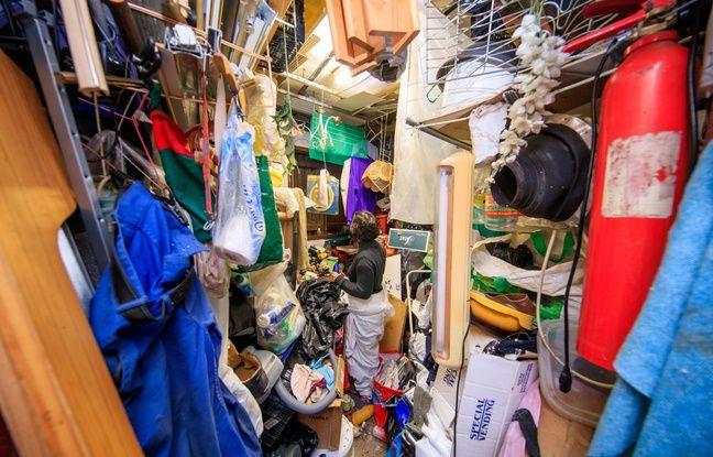 Marseille: Le vieil homme de 74 ans vivait avec 24 tonnes de déchets dans son appartement