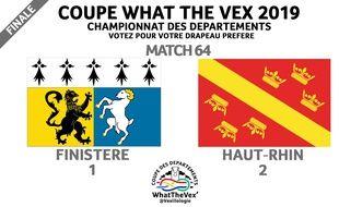 Le blason finistérien a battu celui du Haut-Rhin en finale.