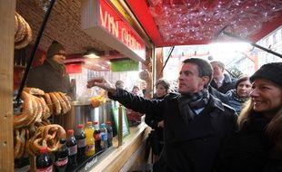 Pour les bretzels, ce sera sans supplément farine.   / AFP PHOTO / PATRICK HERTZOG