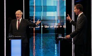 Boris Johnson et Jeremy Hunt ont débattu en direct le 9 juillet 2019.