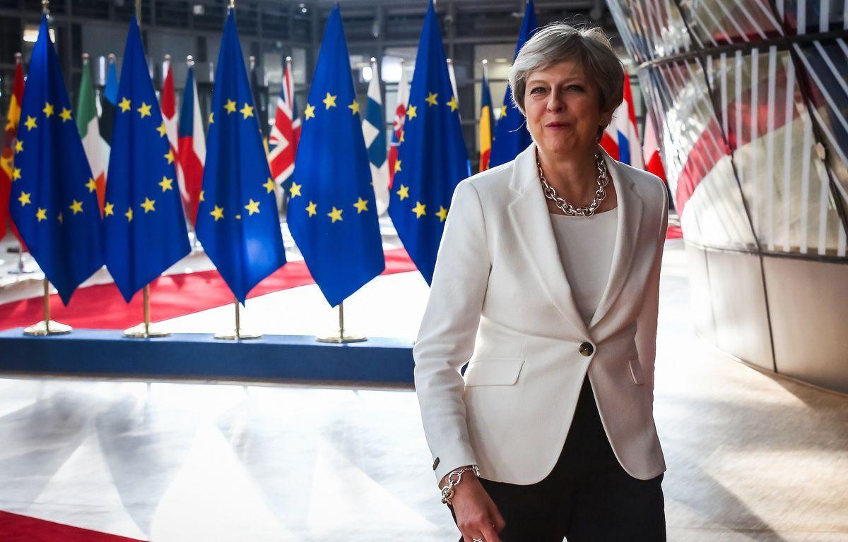 La Première ministre britannique Theresa May – AURORE BELOT / AFP