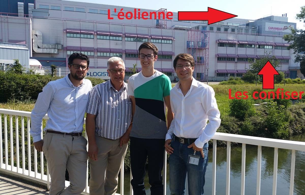 Strasbourg: Une éolienne sur le toit d'une usine Carambar & Co? Ou le pari un peu fou d'un étudiant et d'une entreprise – A. Ighirri / 20 Minutes
