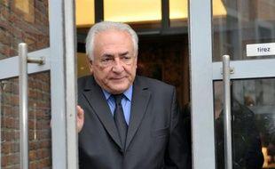 Dominique Strauss-Kahn lors du procès du Carlton de Lille, le 16 février 2015