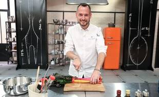 David, candidat de «Top Chef» saison 11, sur M6.