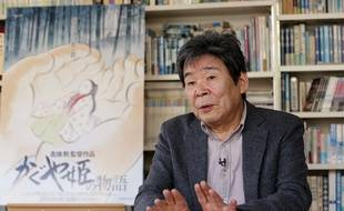 Isao Takahata, le 12 février 2015, à Tokyo.