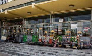 L'université de Nanterre, bloquée au printemps 2018