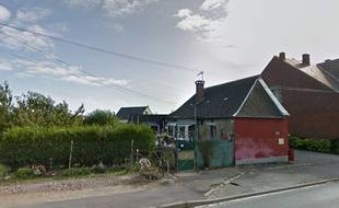 La maison où a été retrouvé le corps de l'enfant.