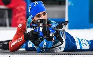 Le Français Martin Fourcade aux JO de Pyeongchang 2018, le 15 février 2018.