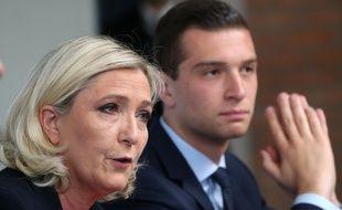 Marine Le Pen et Jordan Bardella.