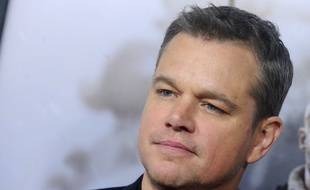 L'acteur Matt Damon