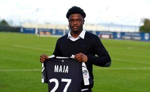 Josh Maja, le nouvel attaquant des Girondins de Bordeaux.