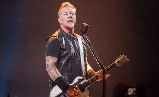 Le chanteur et guitariste de Metallica, James Hetfield