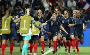 Eugénie Le Sommer a inscrit le but victorieux contre la Norvège au Mondial.