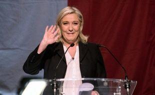 Marine Le Pen à Hénin-Beaumont le 6 décembre 2015