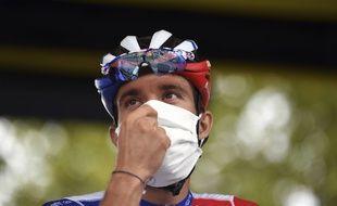 Thibaut Pinot lors du dernier Tour de France, le 6 septembre 2020.