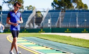 Pierre Gasly, 22 ans, va entamer sa première saison complète en Formule 1, le 24 mars 2018 à Melbourne.